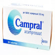 Фото препарата Кампрал (Сampral, Акампросат) таблетки 333мг №84