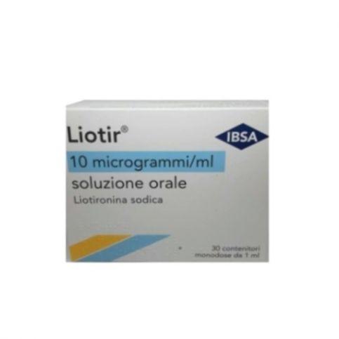 Купить Лиотир (Лиотиронин) 10мкг/мл 1мл №30 (30 доз) в Челябинске